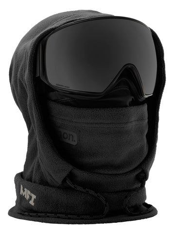 ANON MFI XL HOODED BALACLAVA - BLACK - 2019 - Boardwise