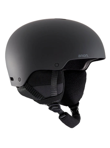 ANON RAIDER 3 HELMET - BLACK - 2020 - Boardwise
