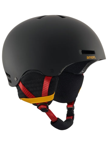 ANON RAIDER HELMET - RIP CITY BLACK - 2018 - Boardwise