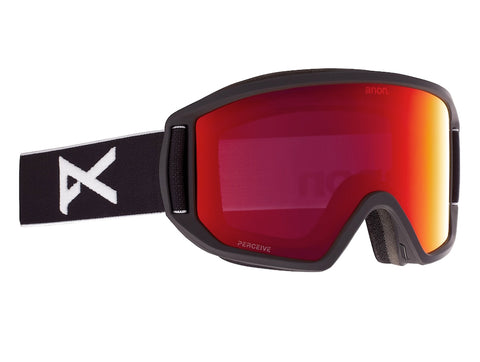 ANON RELAPSE SNOWBOARD GOGGLE - BLACK PERCEIVE SUNNY RED - 2021