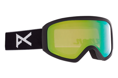 ANON WOMENS INSIGHT SNOWBOARD GOGGLE - BLACK PERCEIVE VARIABLE GREEN - 2021