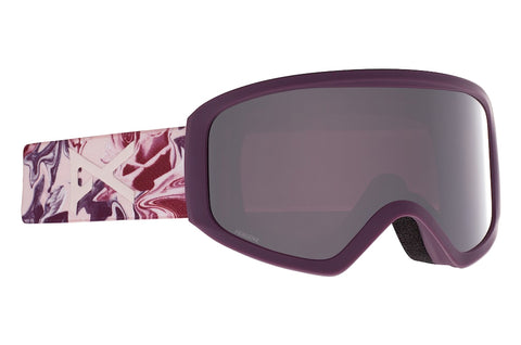 ANON WOMENS INSIGHT SNOWBOARD GOGGLE - WAVY PERCEIVE SUNNY ONYX - 2021