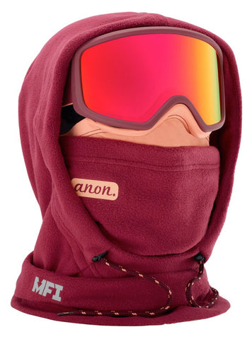 ANON WOMENS MFI XL HOODED BALACLAVA - PURPLE - 2020 - Boardwise