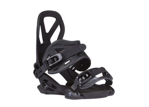 ARBOR HEMLOCK SNOWBOARD BINDINGS - BLACK - 2018 - Boardwise
