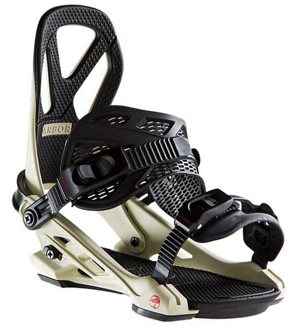 ARBOR HEMLOCK SNOWBOARD BINDINGS - FRANK APRIL - 2019 - Boardwise