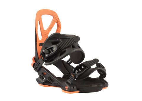 ARBOR HEMLOCK SNOWBOARD BINDINGS - ORANGE - 2018