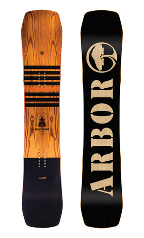 ARBOR WESTMARK CAMBER FRANK APRIL MID WIDE SNOWBOARD - 2018