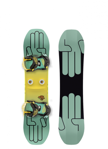 BATALEON KIDS MINI SHRED COMPLETE SNOWBOARD - 2019 - Boardwise