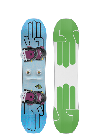 BATALEON KIDS MINI SHRED COMPLETE SNOWBOARD - 2020 - Boardwise