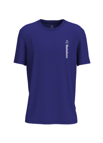 BATALEON LOGO VERT T-SHIRT - STRONG BLUE - 2020 - Boardwise