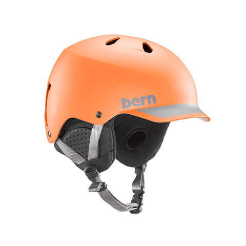 BERN WATTS HELMET - ORANGE - 2019 - Boardwise