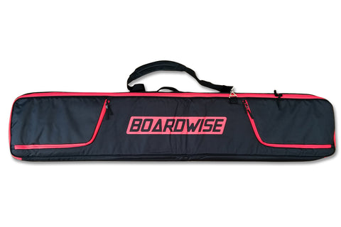 BOARDWISE BOARD WHEELIE COFFIN SNOWBOARD BAG - Boardwise