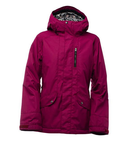 BONFIRE WOMENS JASPER SNOWBOARD JACKET - RASBERRY - 2018