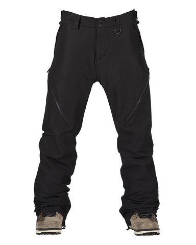BONFIRE ZONE 2L STRETCH SNOWBOARD PANT - BLACK - 2020 - Boardwise