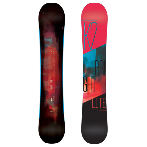 K2 WOMENS BRIGHT LIGHT SNOWBOARD - 2017 - Boardwise