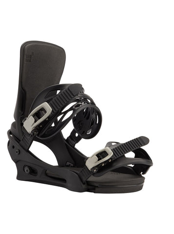 BURTON CARTEL RE:FLEX SNOWBOARD BINDINGS - BLACK - 2021
