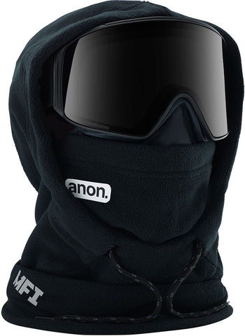 ANON MFI XL HOODED BALACLAVA - BLACK - 2020 - Boardwise
