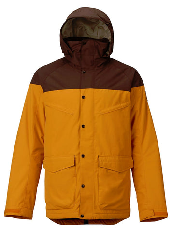 BURTON BREACH SNOWBOARD JACKET -GOLDEN OAK - 2018 - Boardwise