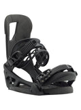 BURTON CARTEL EST SNOWBOARD BINDINGS - BLACK MATTE - 2019 - Boardwise