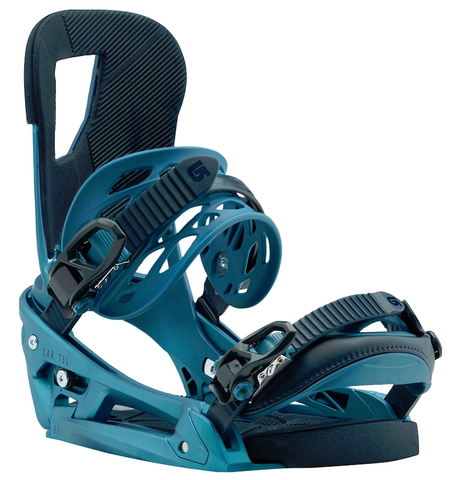 BURTON CARTEL EST SNOWBOARD BINDINGS -BLUE BOY - 2018 - Boardwise