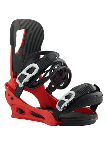BURTON CARTEL SNOWBOARD BINDINGS - RED - 2019 - Boardwise