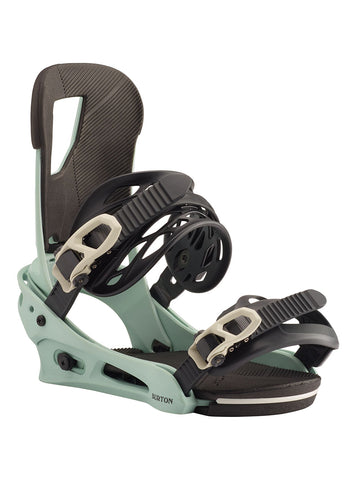 BURTON CARTEL SNOWBOARD BINDINGS - BLUE HAZE - 2020 - Boardwise