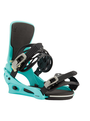 BURTON CARTEL RE:FLEX SNOWBOARD BINDINGS - GLACIER GREEN - 2021