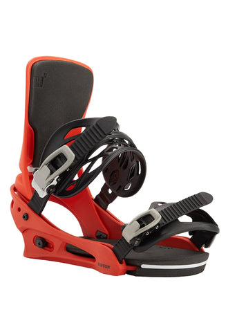 BURTON CARTEL RE:FLEX SNOWBOARD BINDINGS - BRIGHT RED - 2021