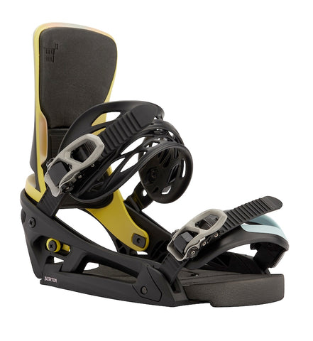 BURTON CARTEL X EST SNOWBOARD BINDINGS - BLACK MULTI - 2021