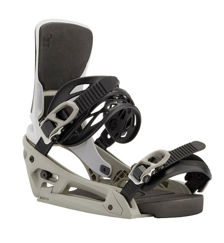 BURTON CARTEL X EST SNOWBOARD BINDINGS - TEAM GRAY - 2021