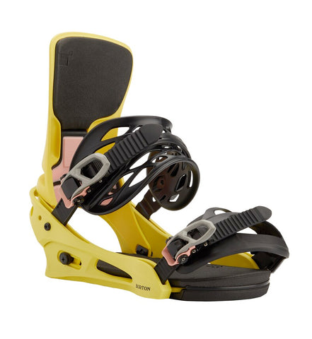 BURTON CARTEL X RE:FLEX SNOWBOARD BINDINGS - YELLOW - 2021