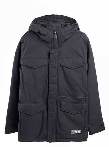 BURTON COVERT SNOWBOARD JACKET - TRUE BLACK - 2021