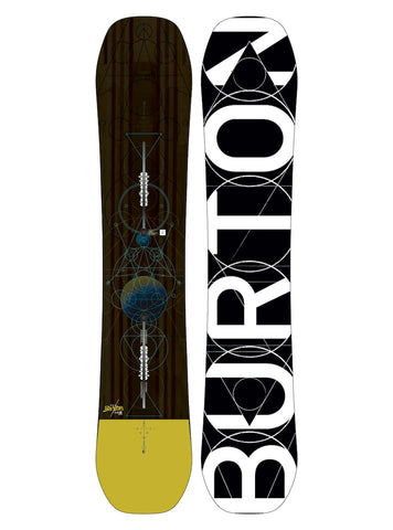 BURTON CUSTOM FLYING V WIDE SNOWBOARD - 2018