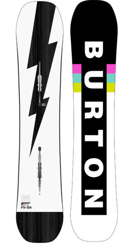 BURTON CUSTOM FLYING V WIDE SNOWBOARD - 2021