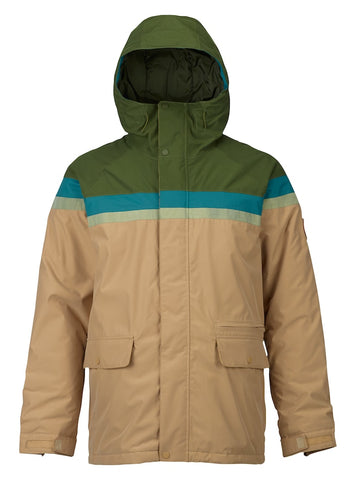 BURTON DOCKET SNOWBOARD JACKET - RIFLE GREEN - 2018 - Boardwise