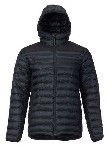 BURTON EVERGREEN HOODED SYNTHETIC INSULATOR JACKET - TRUE BLACK - 2018