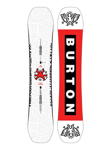 BURTON FREE THINKER WIDE SNOWBOARD - 2020 - Boardwise
