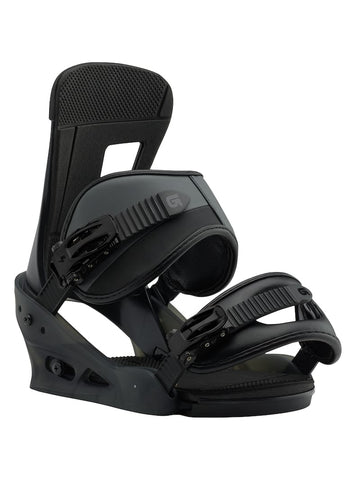 BURTON FREESTYLE  SNOWBOARD BINDINGS - BLACK MATTE - 2019 - Boardwise