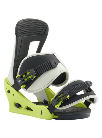 BURTON FREESTYLE  SNOWBOARD BINDINGS - MTN DUDE GREEN - 2019 - Boardwise