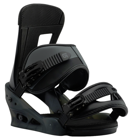BURTON FREESTYLE  SNOWBOARD BINDINGS - BLACK MATTE - 2018 - Boardwise