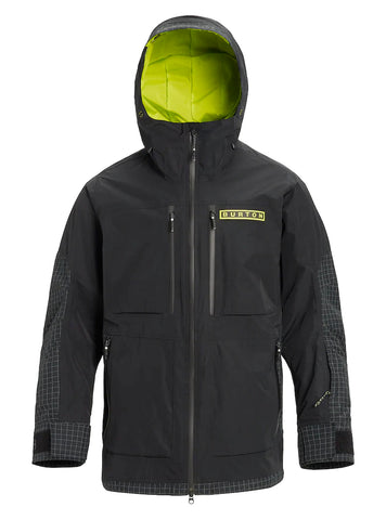 BURTON FROSTNER JACKET - TRUE BLACK - 2020 - Boardwise