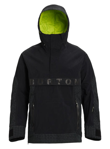 BURTON FROSTNER SNOWBOARD JACKET - TRUE BLACK - 2020 - Boardwise