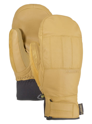 BURTON GONDY GORE TEX LEATHER SNOWBOARD MITT - RAW HIDE - 2020 - Boardwise