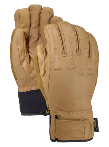 BURTON GONDY GORE TEX LEATHER SNOWBOARD GLOVE - RAW HIDE - 2020 - Boardwise