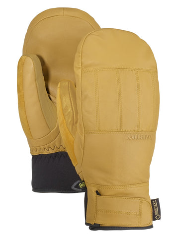 BURTON GONDY GORE TEX LEATHER SNOWBOARD MITT - RAW HIDE - 2019 - Boardwise