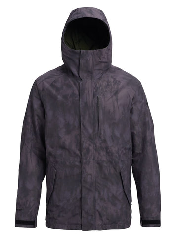 BURTON GORE RADIAL SNOWBOARD JACKET - CLOUD SHADOWS - 2019 - Boardwise