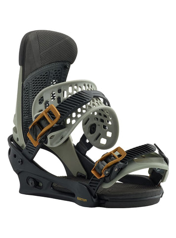 BURTON MALAVITA SNOWBOARD BINDINGS - BLACK GRAY - 2019