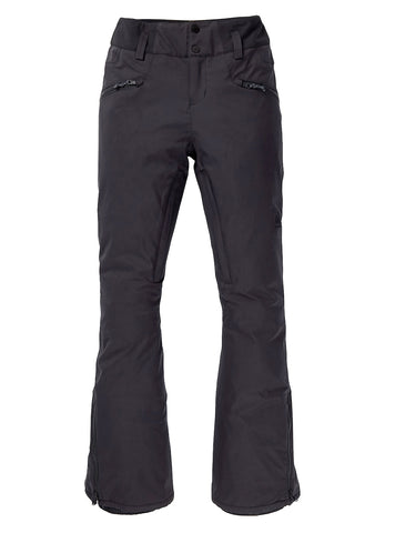 BURTON WOMENS MARCY HIGH RISE STRETCH SNOWBOARD PANT - TRUE BLACK - 2021