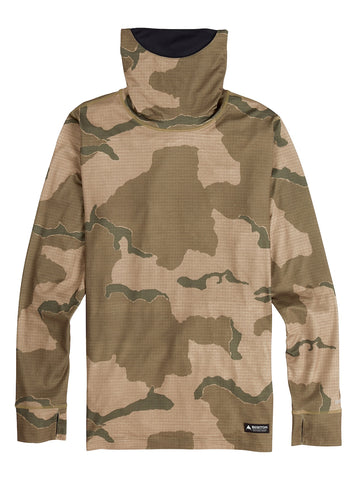 BURTON MIDWEIGHT LONG NECK THERMAL - BARREN CAMO - 2021