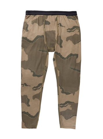 BURTON MIDWEIGHT BASE LAYER PANT - BARREN CAMO - 2021